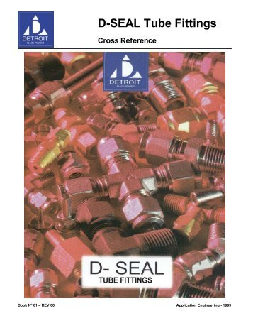 D-SEAL Tube Fittings Cross Reference - DETRON