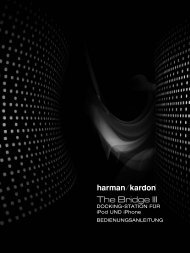 The Bridge III - Harman Kardon