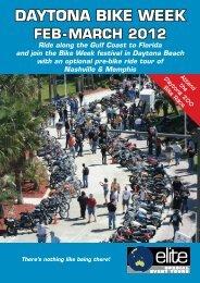 2012 daytona bike week - Elite Special Event Tours
