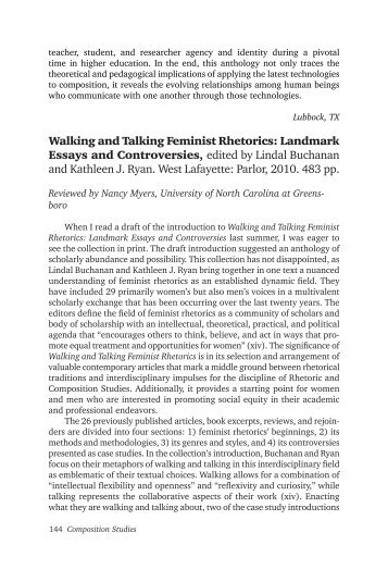 the composition and rhetoric field essay My contribution documented/profiled a new genre of rhetoric and did a little rhetorical analysis on samples of it but the journal wanted a contribution to theory i find it dubious that every contribution of 4000 words can make a viable contribution to rhetorical theory, and i question whether contributing to theory is the only or even the best type.