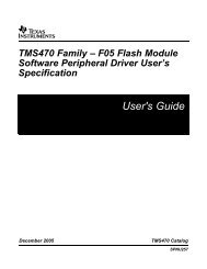 USB Interface Adapter Evaluation Module - Texas Instruments