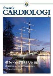 Svensk Cardiologi 4 2012 - Svenska Cardiologföreningen