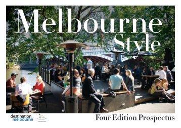 Four Edition Prospectus - Destination Melbourne