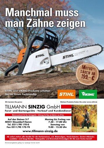 Manchmal muss man Zähne zeigen - Tillmann-Sinzig GmbH
