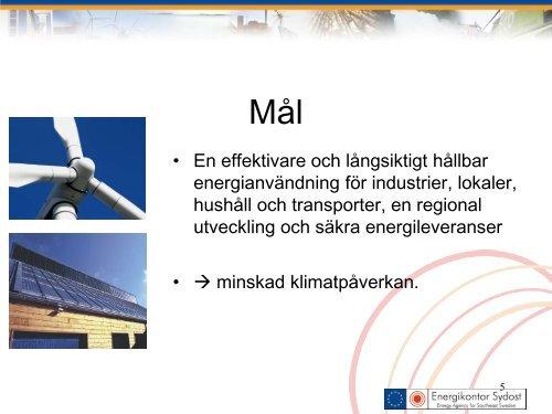 Per Hansson - Energikontor Sydost