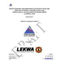 App D7 -Waste disposal facility Designs.pdf - Zitholele.co.za