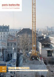 guide de l'hmonp - Ecole Nationale Supérieure d'Architecture de ...