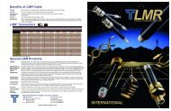 LMR Selection Guide - Times Microwave Systems