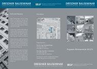 Dresdner Bauseminar - Hochschule für Technik und Wirtschaft ...