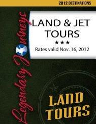 Legendary Journeys plans Escorted Tours, Cruises & Cruise