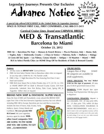 10 23 2012 Carnival Breeze Med - Legendary Journeys