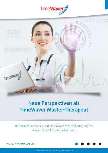 Neue Perspektiven als TimeWaver Master-Therapeut