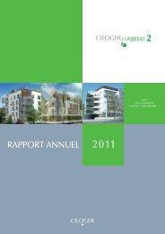 Rapport annuel - Ciloger