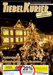 Feldkirchner Einkaufsnacht – Fr. 2. DezemberSeite 6-17 - Tiebelkurier