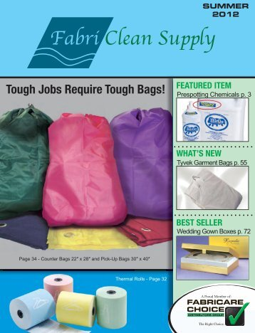2012 Summer FCP Catalog - FabriClean Supply