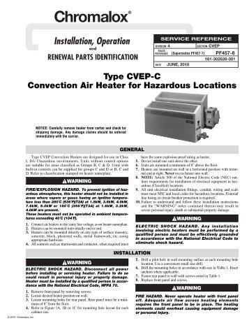 Chromalox Immersion Heater Wiring Diagram Wiring Diagram