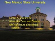 LeRoy Daugherty - 2013 Rio Grande Basin Initiative Meeting