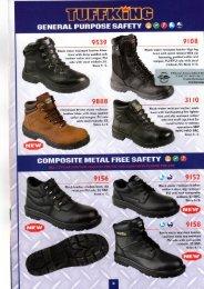 Tuffking footwear - Hygienique