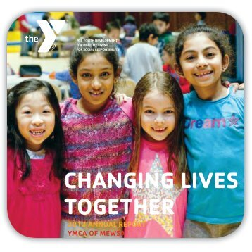 2012 annual report - YMCA of Metuchen, Edison, Woodbridge and ...