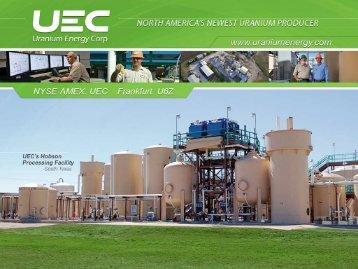 South Texas - Uranium Energy Corp.