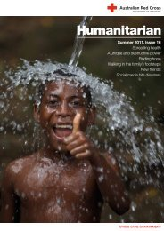 Issue 16, Summer 2011 - Australian Red Cross