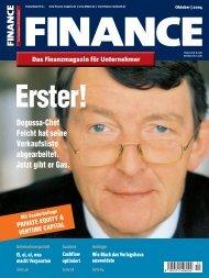Finance - Oktober 2004 - Klein & Coll.