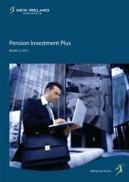 Pension Investment Plus - New Ireland Assurance