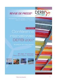 Revue de presse DERBI 2007