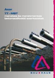 TT-MBT betonacéltoldó szerkezetek (pdf - 3,9 MB) - Bau-Haus Kft.