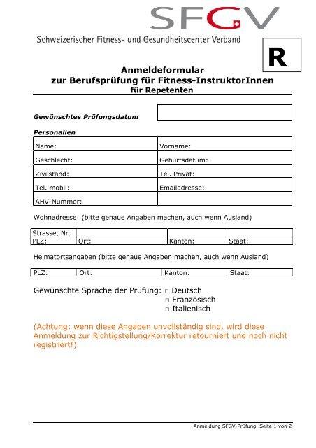 Anmeldeformular zum ausdrucken.pdf   Schweizerischer Fitness