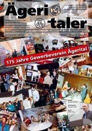 175 Jahre Gewerbeverein Ägerital - Fromyprint