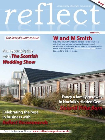 Sisland Tithe Barn - Reflect Magazine
