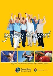 Physical Activity and Nutrition Guide for Older Adults - Community ...