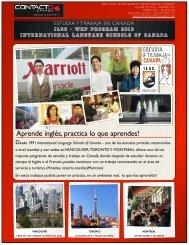 Estudio y Trabajo en Canada 2013