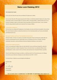 Natur.com Katalog 2012