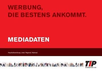 MEDIADATEN WERBUNG, DIE BESTENS ... - TIP Werbeverlag