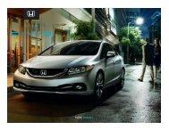 CIVIC SEDAN - Goudy Honda