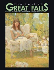The Best of Great Falls Spring 2013 - The Best of Great Falls Magazine