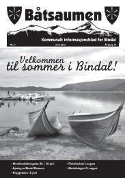 BÃ¥tsaumen nr 3-2013 - Bindal kommune
