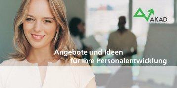 Angebote und Ideen für Ihre Personalentwicklung - Perspektive ...