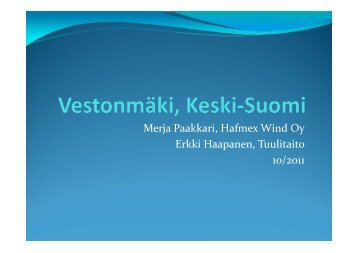 Vestonmäki - Keski-Suomen liitto