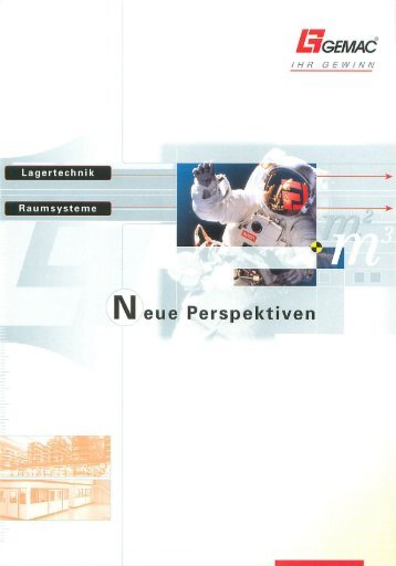 Image Broschüre Neue Perspektiven - Gemac Lagertechnik + ...