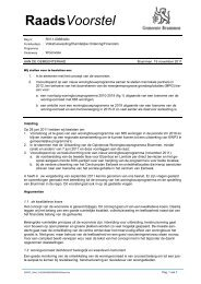 Raadvoorstel Woonvisie 29-11-2011 - Kleine Kernen Empe - Tonden