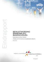 VGGM eindrapport Frisse lucht 2008-2012
