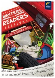 Download the Brimbank Writers & Readers Festival Brochure