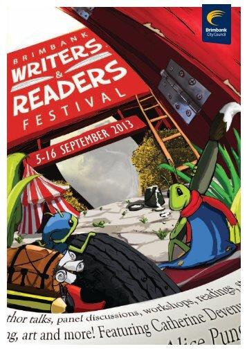 Download the Brimbank Writers & Readers Festival Brochure