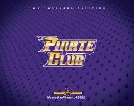 T W O T H O U S A N D T H I R T E E N - ECU Pirate Club