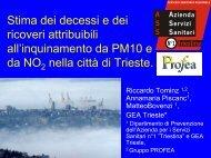 Presentazione di PowerPoint - Associazione Italiana Epidemiologia