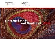 Unternehmen mit Weitblick 2010 - Perspektive 50plus