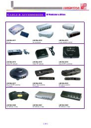 Cable & Accessories RF Modulator & AV box